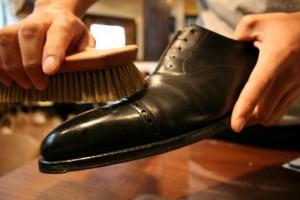 心が浄化されるような気がする靴磨き