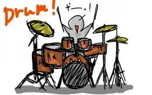 酔うとなぜかドラムを叩く動作をする役員